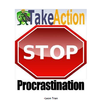 Take Action Stop Procrastination